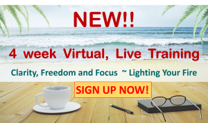Clarity Freedom and Focus by Karin Green at Shadow Wisdom